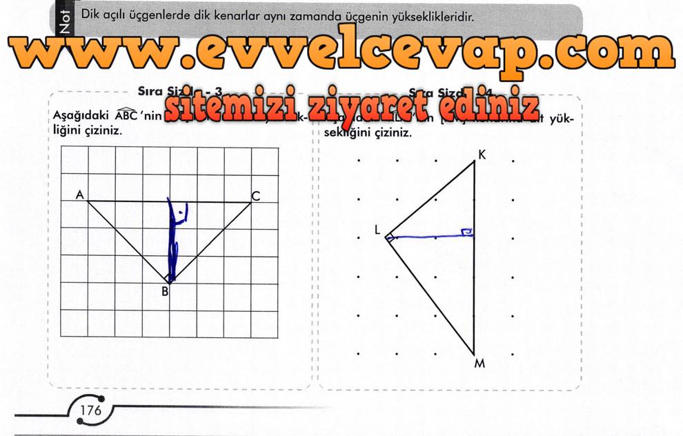 6. Sınıf Meb Yayınları Matematik Ders Kitabı Sayfa 176 Cevabı
