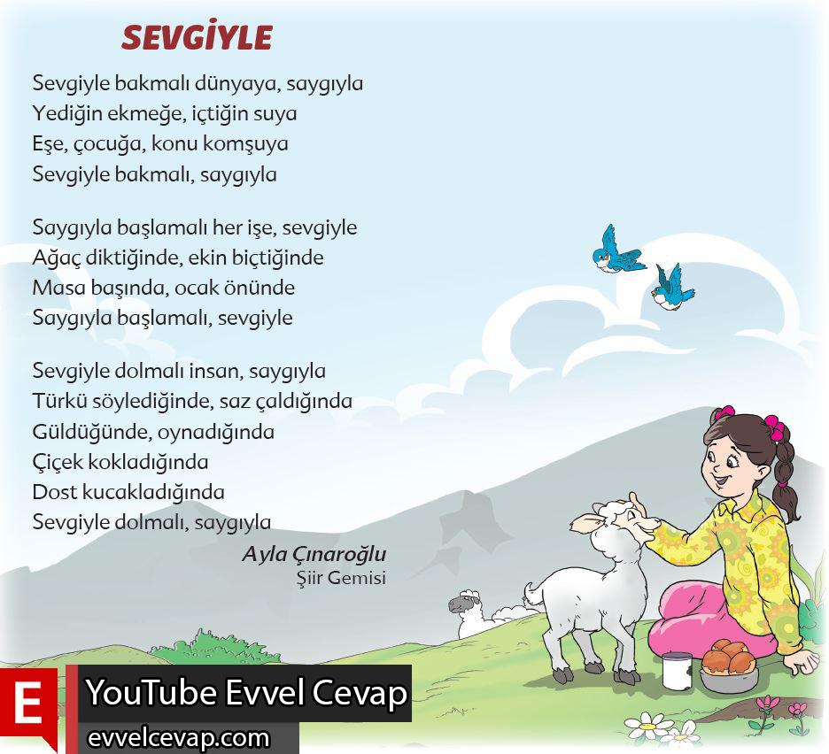 6. Sınıf Türkçe Ders Kitabı Ekoyay Yayınları Sayfa 111 Cevabı
