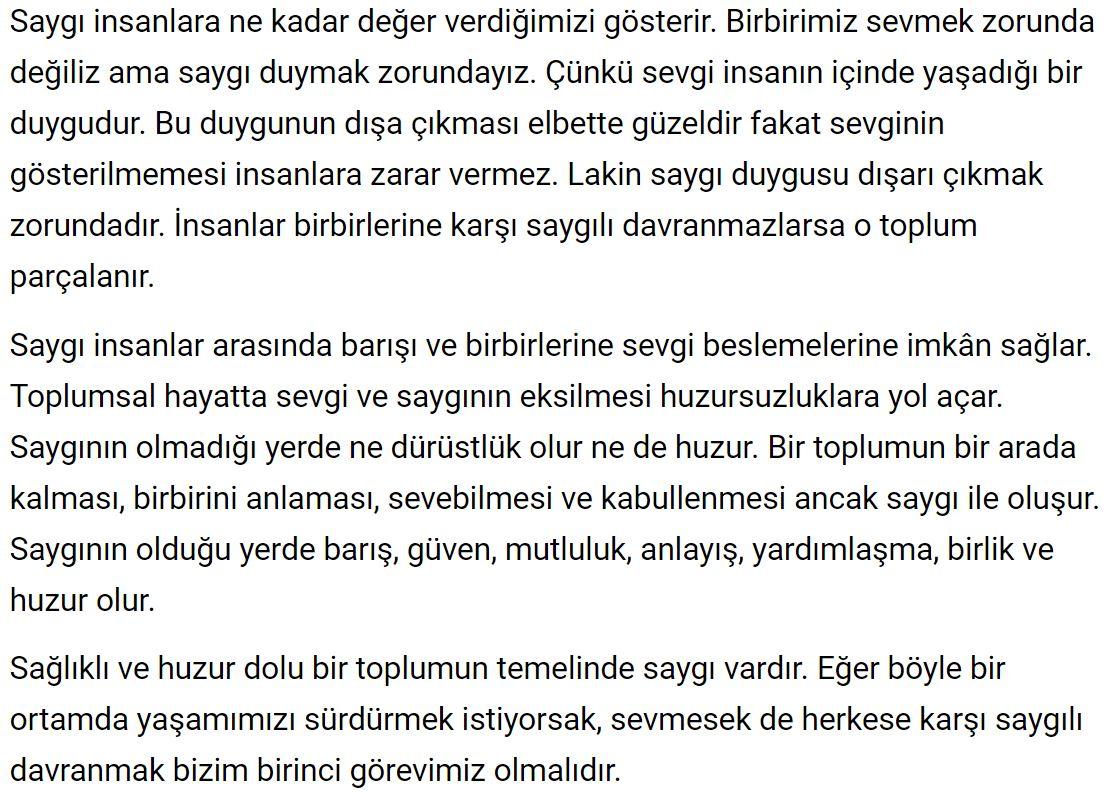 6. Sınıf Türkçe Ders Kitabı Ekoyay Yayınları Sayfa 112 Cevabı